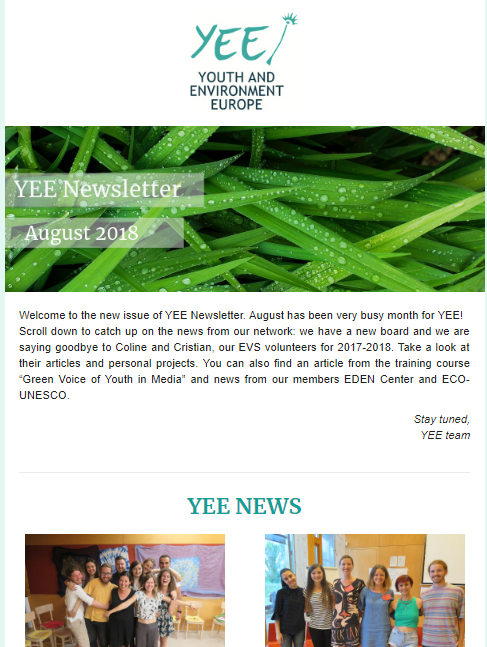 newsletter yee