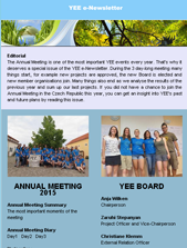 Newsletter annual meeting 2015